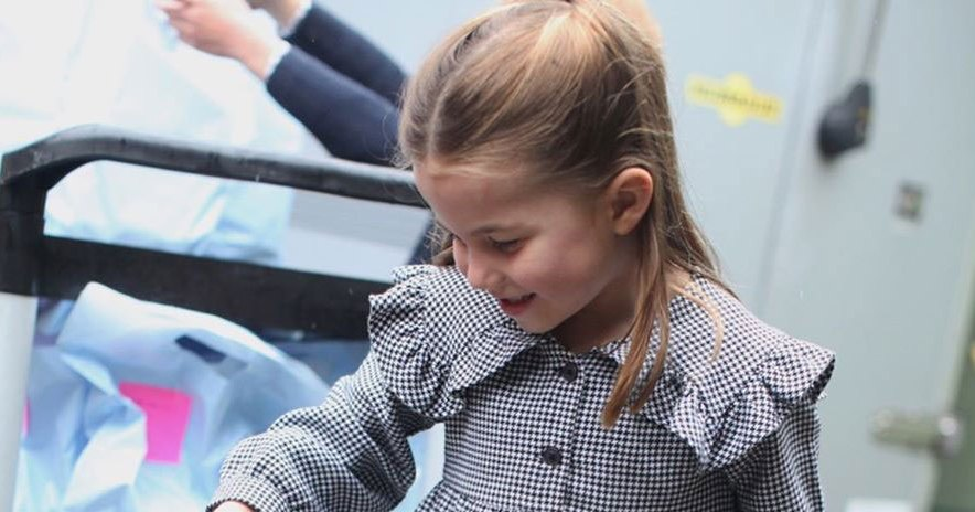 Princess Charlotte Delivers Food Ahead of Her 5th Birthday: See the Pics