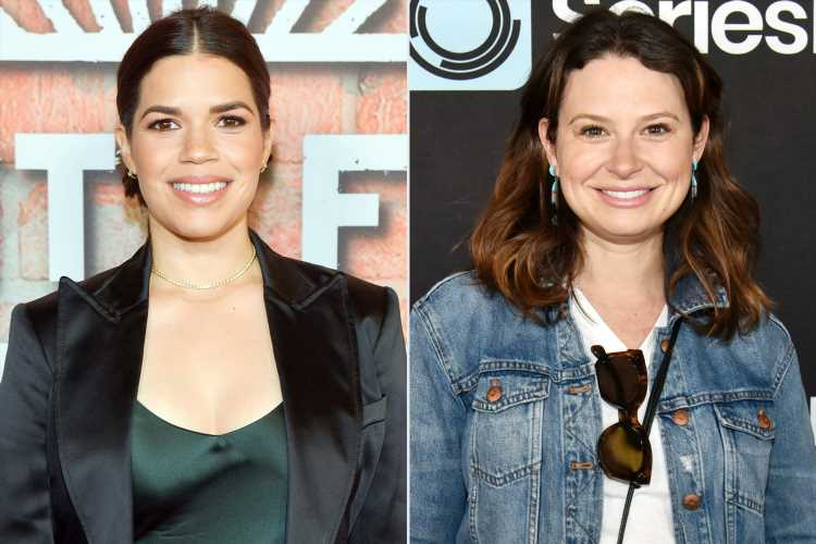 America Ferrera Opens Up to Katie Lowes About Anxiety She Felt Towards End of Second Pregnancy