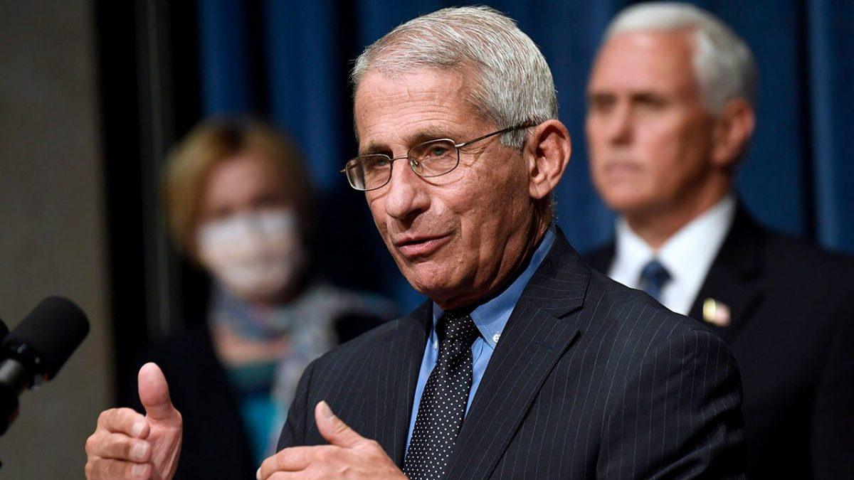 Fauci suggests goggles, eye shield for better protection against coronavirus