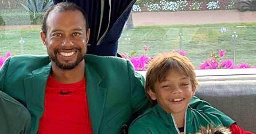 Just Like Dad! Tiger Woods' Son Charlie, 11, Wins Junior Golf Tournament