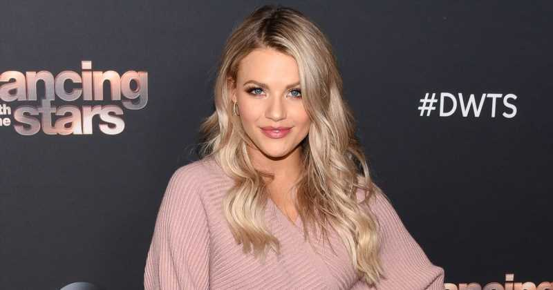 That Face! DWTS' Witney Carson Reveals 1st Photo of Son Kevin Leo