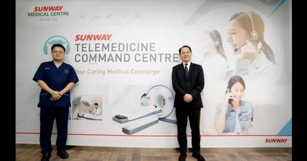 Malaysia's Sunway Medical Center launches Telemedicine Command Center