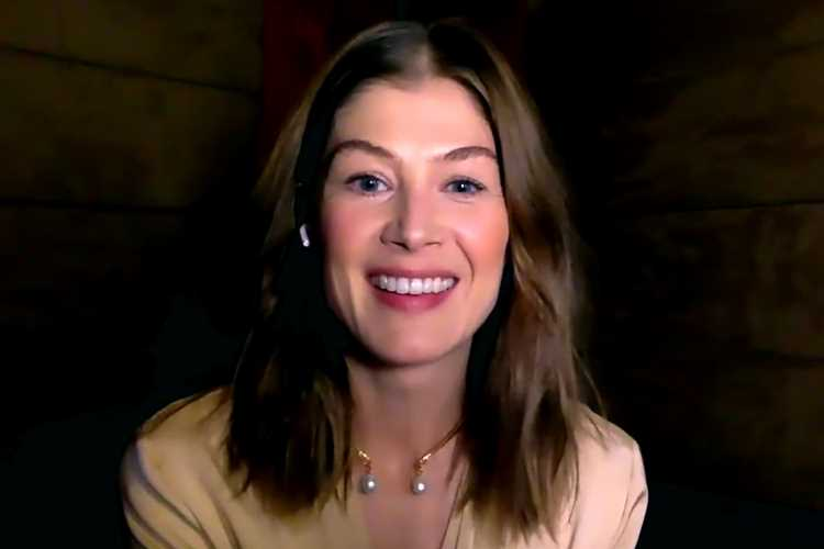 Rosamund Pike Reveals She Once Came Across Drunk Partiers During 'Wholesome' Outing with Her Kids