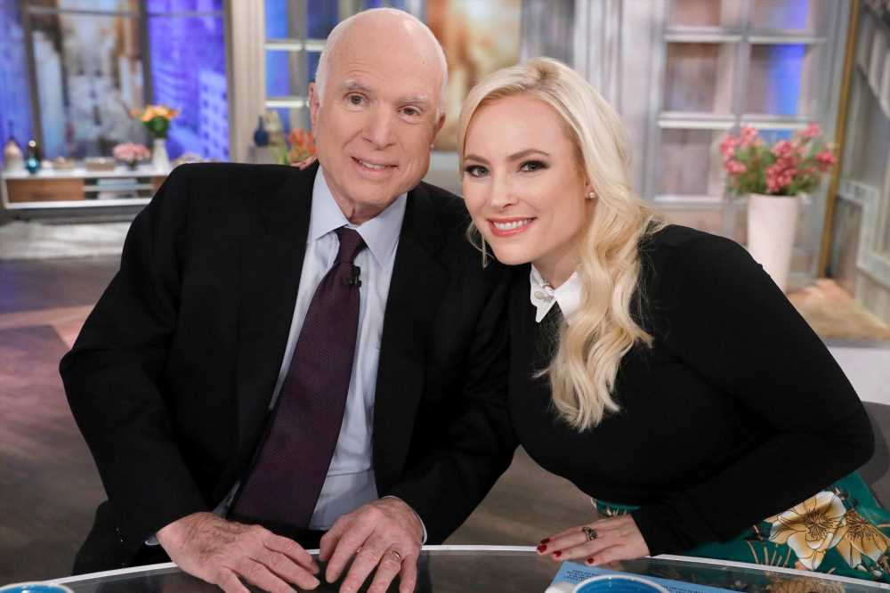 Meghan McCain Places Photos of Daughter Liberty, 4 Months, on Father John's Grave: 'Miss You Dad'
