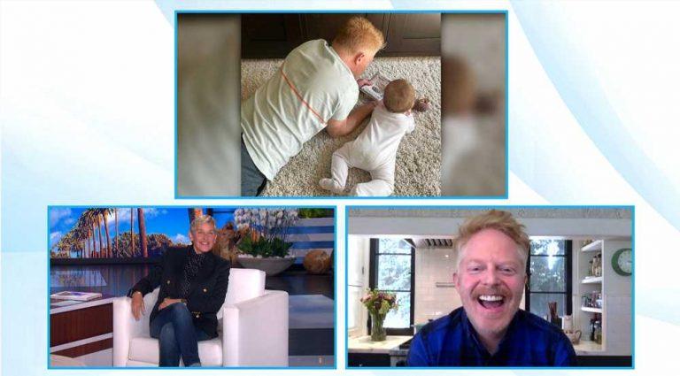 Jesse Tyler Ferguson Jokes That He's Raising His Son 'Gay Until He Decides He's Straight'