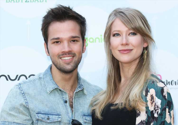 iCarly's Nathan Kress, Wife London Welcome Baby Girl Evie Elise: 'Can't Seem to Stop Crying'
