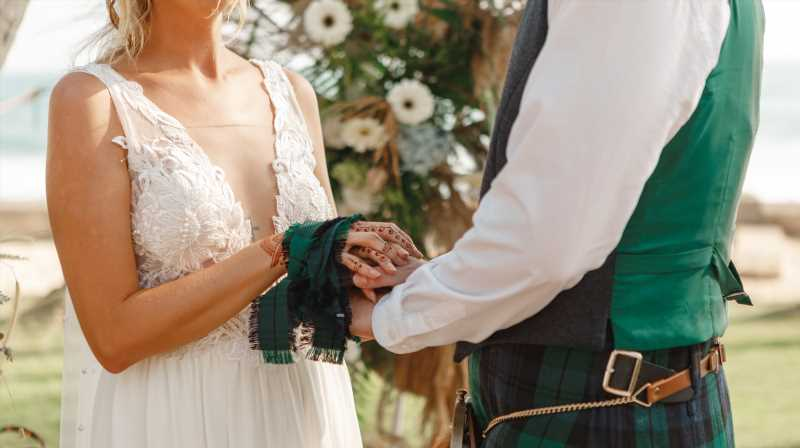 This Odd Wedding Trend In Scotland You Never Heard About