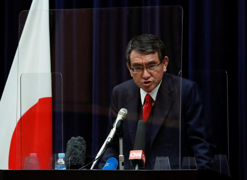 Japan's vaccine minister says inoculation pace to accelerate in May