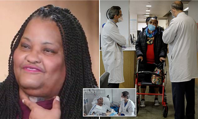 New York grandmother receives first windpipe transplant in the US