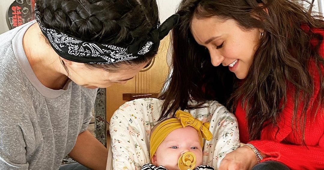 See Nina Dobrev Meeting Jessica Szohr's 'Perfect' 2-Month-Old Daughter