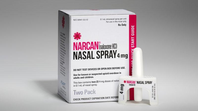 FDA OKs Higher-Dose Naloxone Nasal Spray for Opioid Overdose