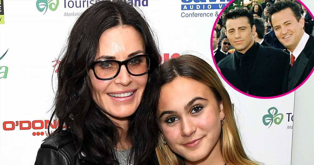 Courteney Cox's Daughter Coco Reveals Whether She'd Date Chandler or Joey
