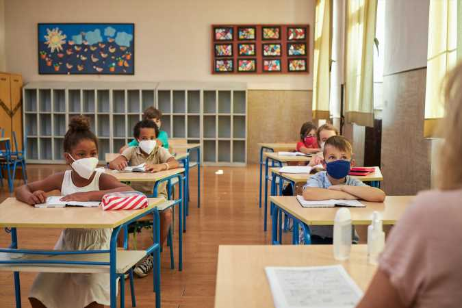 Public Favors Masks in Classrooms but Balks at Mandating Vaccinations for Students