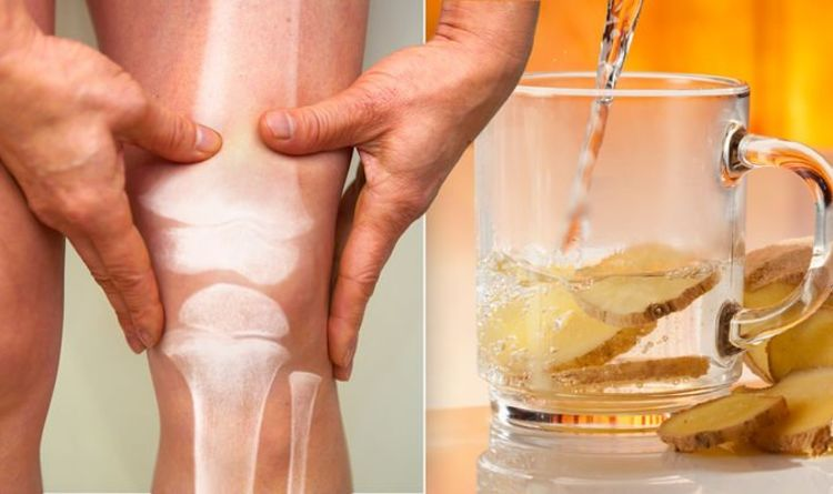 Arthritis diet: The simple drink to reduce joint pain symptoms – how to make ginger water